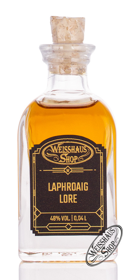 Laphroaig Lore Single Malt Whisky 48% vol. 0,04l Weisshaus Sample
