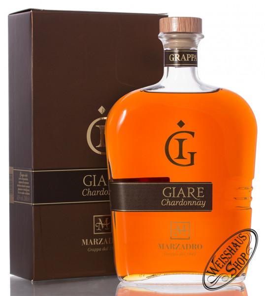 Marzadro Grappa Le Giare Chardonnay 45% vol. 2,0l