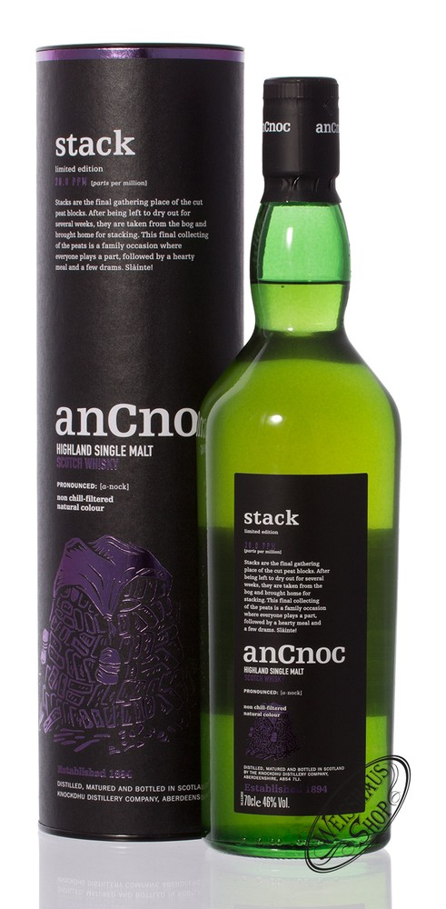 AnCnoc Stack Whisky 46% vol. 0,70l