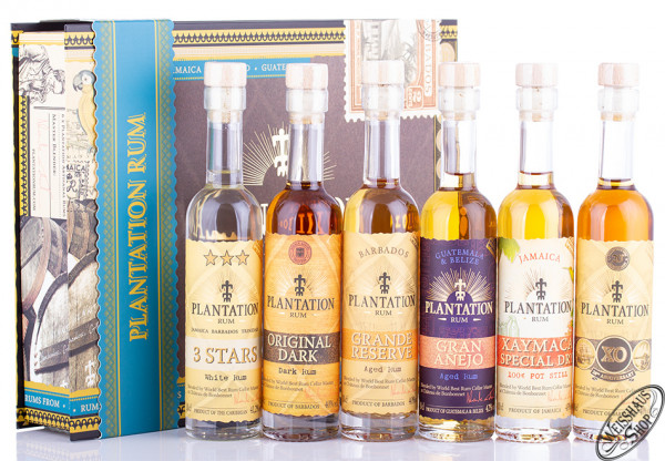 Plantation Experience Box 6er Rum Set 6 x 0,10l