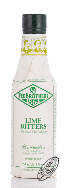 Fee Brothers Lime Bitters 21,1% vol. 0,15l