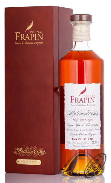 Frapin Multimillesime No. 7 1989-1991-1993 Cognac 40,8% vol. 0,70l