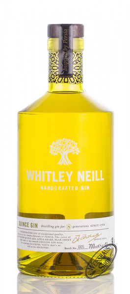 Whitley Neill Quince Gin 43% vol. 0,70l