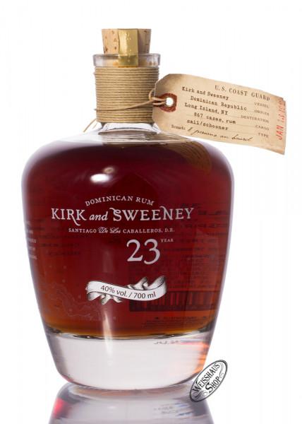 Kirk and Sweeney 23 YO Rum 40% vol. 0,70l