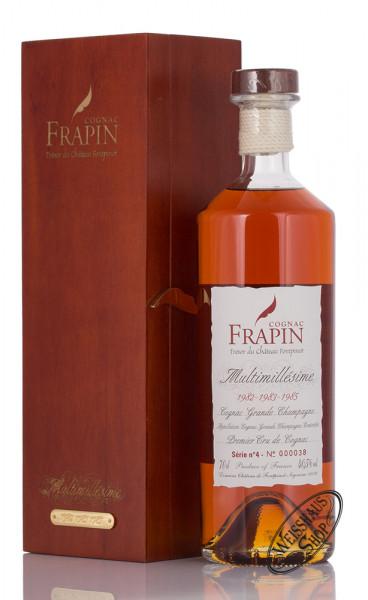 Frapin Multimillesime No. 4 1982-1983-1985 Cognac 40,5% vol. 0,70l