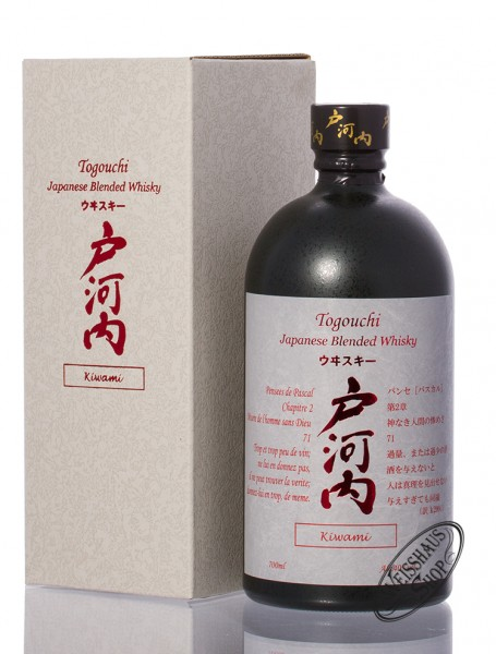 Togouchi Kiwami Whisky 40% vol. 0,70l