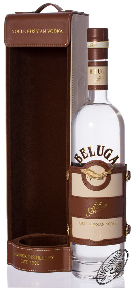 Beluga Allure Russian Vodka 40% vol. 0,70l