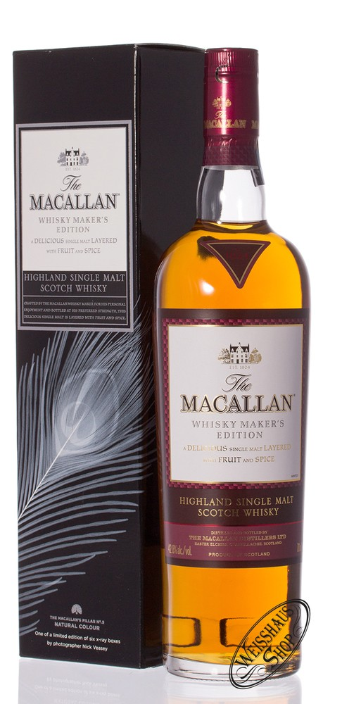 Macallan Makers X-Ray Edition Whisky 42,8% vol. 0,70l