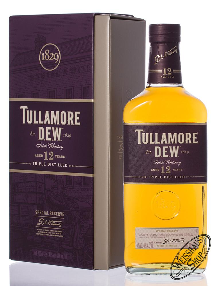 Tullamore Dew 12 YO Special Reserve Irish Whiskey 40% vol. 0,70l