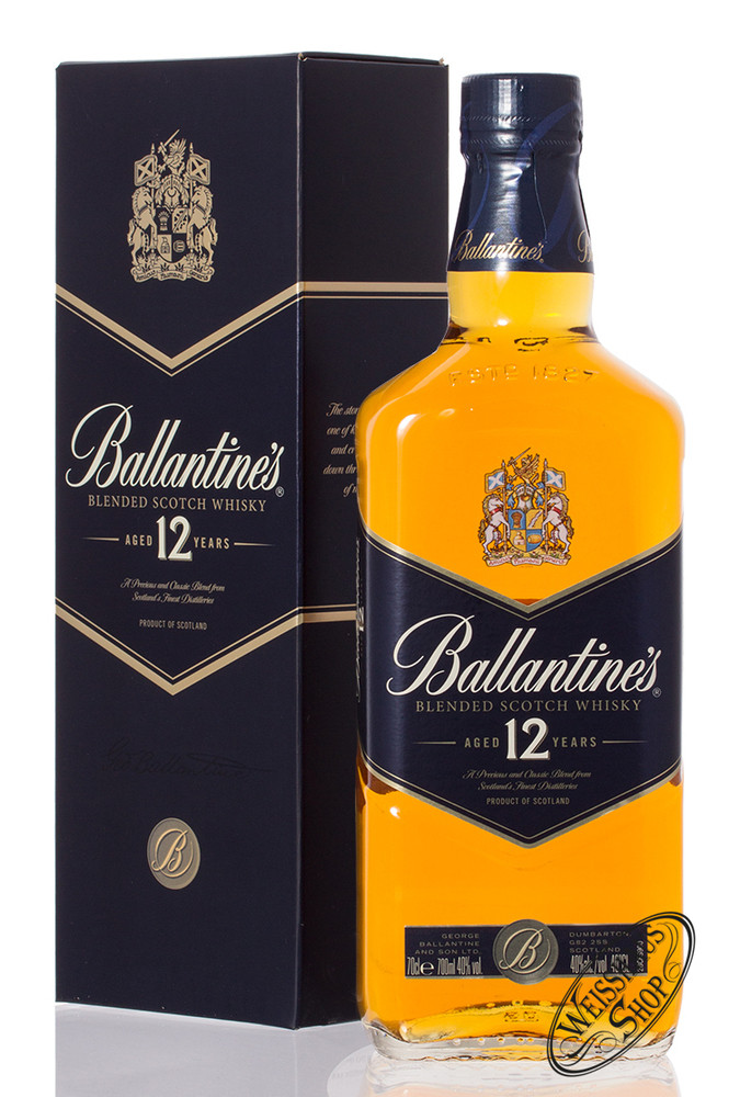 Ballantine's 12 YO Whisky 40% vol. 0,70l