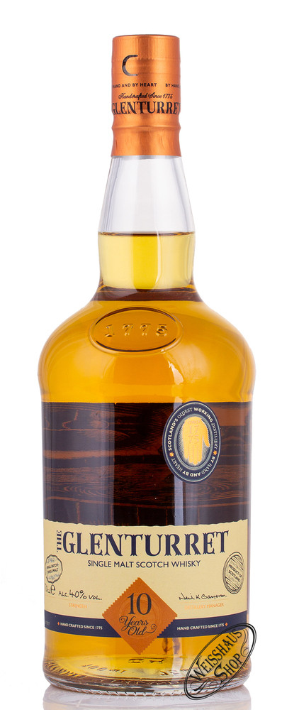 Glenturret 10 YO Whisky 40% vol. 0,70l