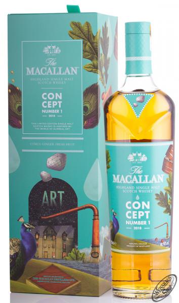 Macallan Concept No. 1 Whisky 40% vol. 0,70l