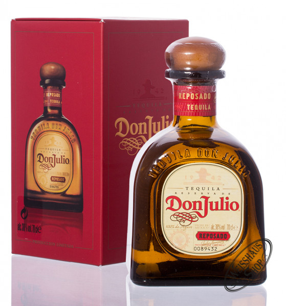 Don Julio Reposado Tequila 38% vol. 0,70l