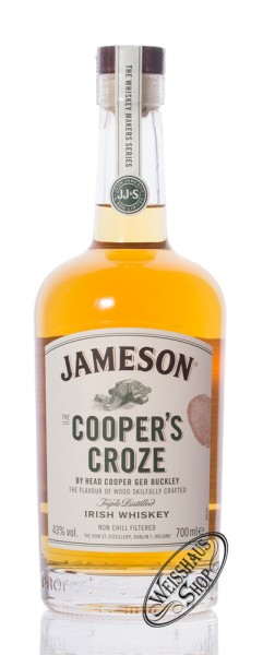 Jameson Coopers Croze Irish Whiskey 43% vol. 0,70l