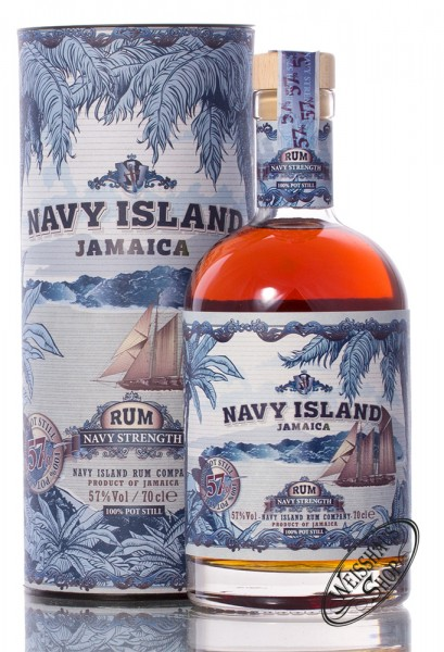 Navy Island Navy Strength Rum 57% vol. 0,70l