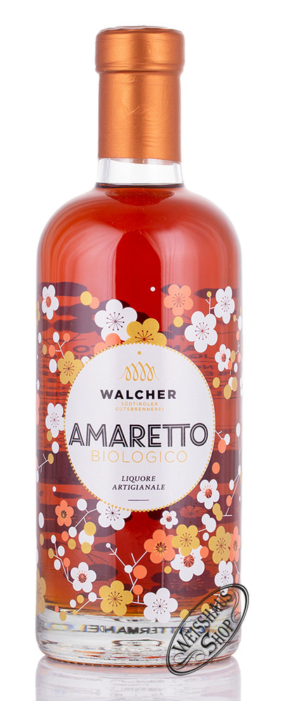 Walcher Amaretto Bio Flower 28% vol. 0,70l