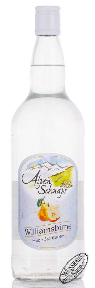 Nannerl Steinbeisser Alpenschnaps Williams 35% vol. 1,0l