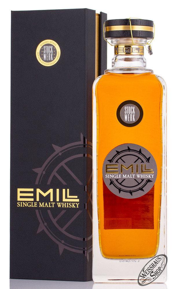 Scheibel Emill Stockwerk Single Malt Whisky 46% vol. 0,70l