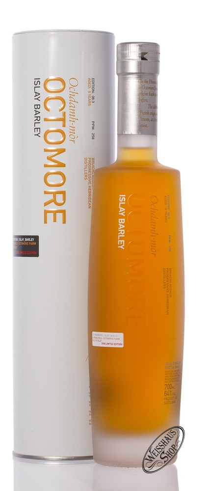 Bruichladdich Octomore 06.3 Islay Whisky 64% vol. 0,70l
