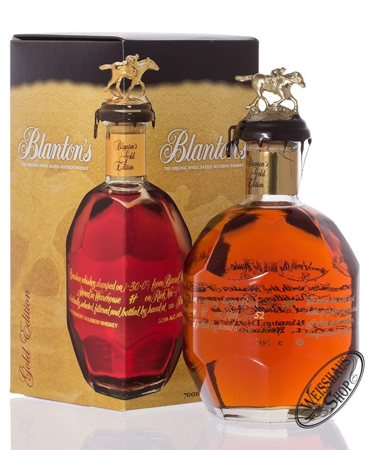 Blanton's Gold Edition Bourbon Whiskey 51,5% vol. 0,70l