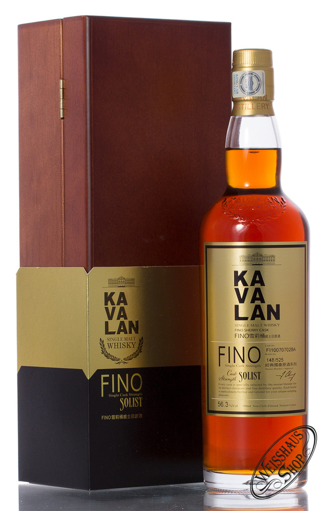 Kavalan Solist Fino Sherry Whisky 56,3% vol. 0,70l