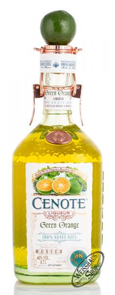 Cenote Tequila Green Orange Likör 40% vol. 0,70l