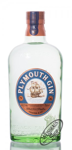 Plymouth Original Strength Dry Gin 41,2% vol. 0,70l