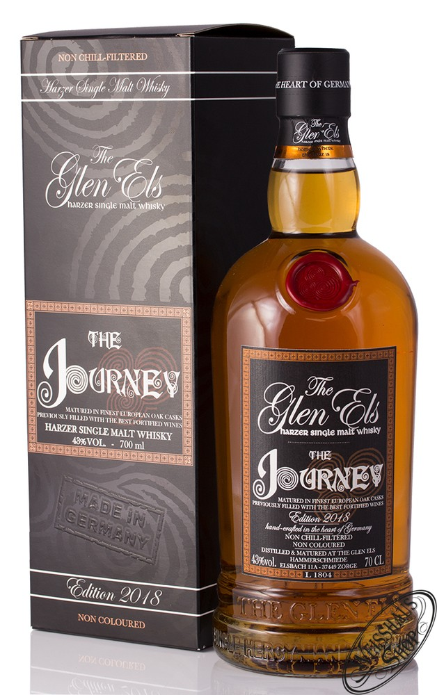 The Glen Els Hammerschmiede Glen Els The Journey Edition 2018 Single Malt Whisky 43% vol. 0,70l