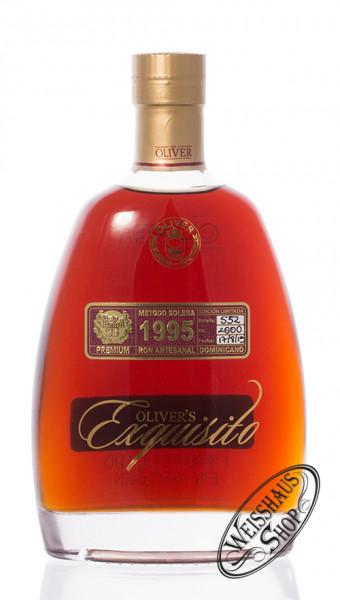 Oliver & Oliver Ron Exquisito Vintage 1995 Rum 40% vol. 0,70l