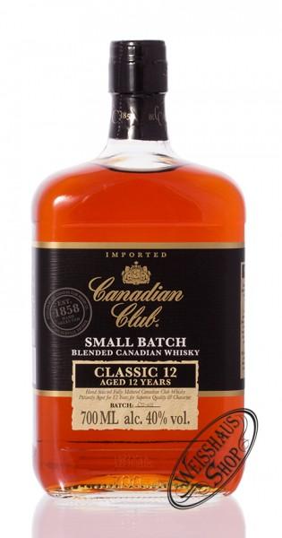 Canadian Club 12 YO Classic Whiskey 40% vol. 0,70l