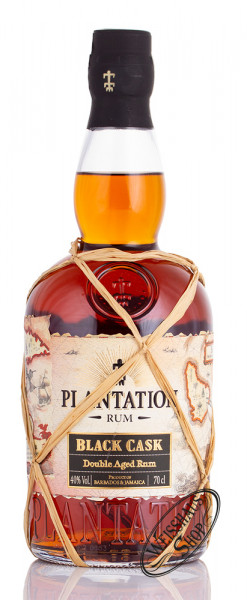 Plantation Black Cask Barbados & Jamaica Rum 40% vol. 0,70l