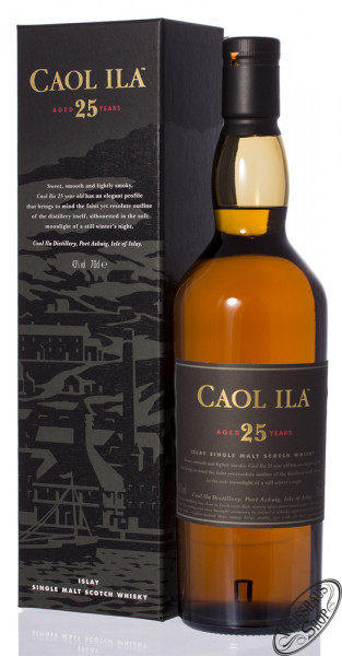 Caol Ila 25 YO Single Malt Whisky 43% vol. 0,70l