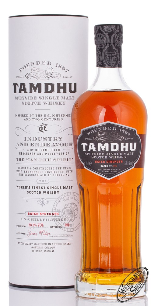 Tamdhu Batch Strength Batch 2 Whisky 58,5% vol. 0,70l