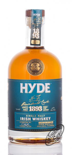 Hyde No. 7 Irish Sherry Matured Whiskey 46% vol. 0,70l