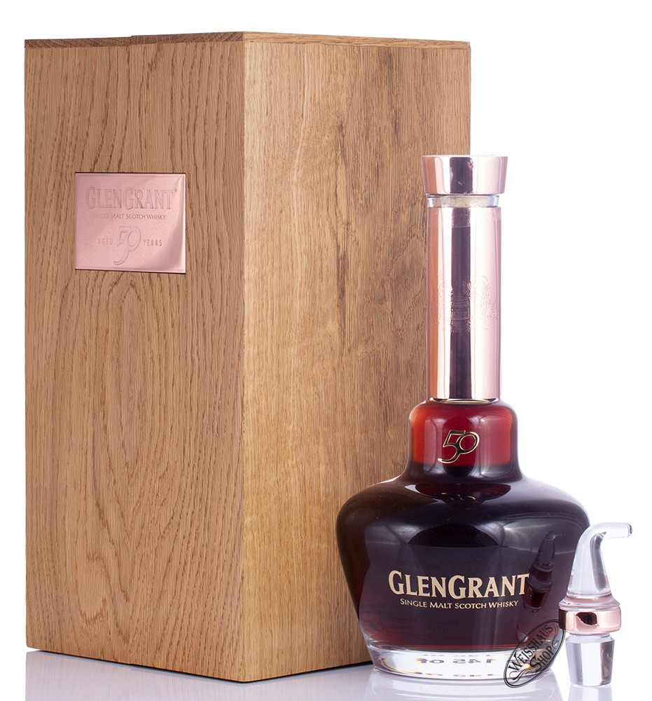 Glen Grant 50 YO Whisky 54,4% vol. 0,70l
