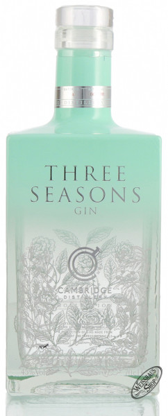 Cambridge Three Seasons Gin 45% vol. 0,70l