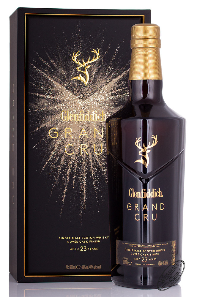 Glenfiddich 23 YO Grand Cru Whisky 40% vol. 0,70l