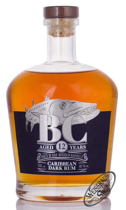 Barracauda Cay Barracuda Cay 12 YO Panama Rum 40% vol. 0,70l