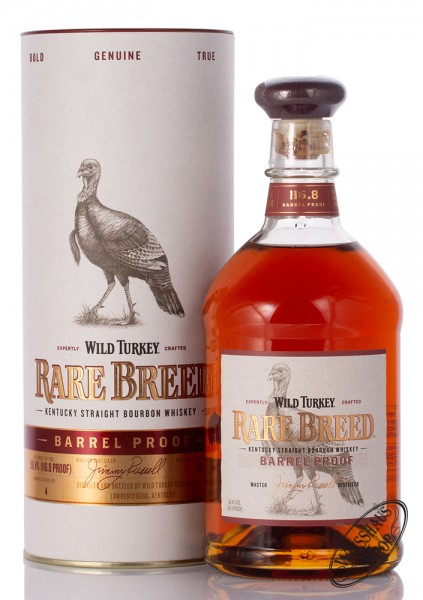 Wild Turkey Rare Breed Barrel Proof Bourbon Whiskey 58,4% vol. 0,70l