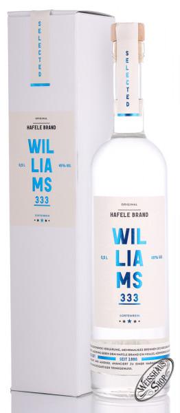 Prinz Hafele 333 Williams Brand 45% vol. 0,50l