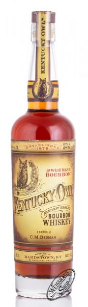 Kentucky Owl Batch 9 Straight Bourbon Whiskey 63,8% vol. 0,70l