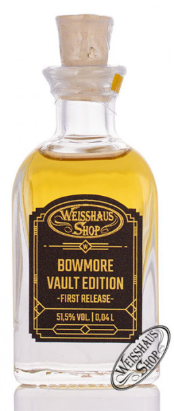 Bowmore Vault Edition First Release Whisky 51,5% vol. 0,04l Weisshaus Sample