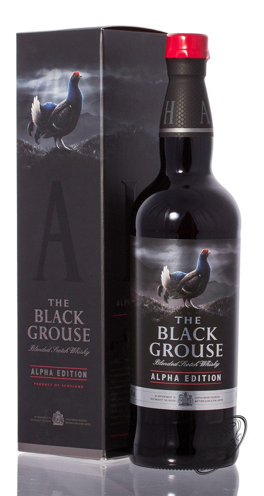 The Famous Grouse Black Grouse Alpha Edition Whisky 40% vol. 0,70l