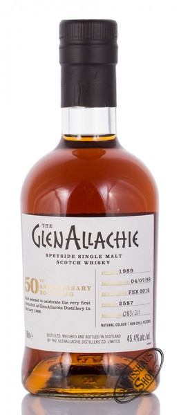 Glenallchie Vintage 1989 Single Malt Whisky 45,4% vol. 0,50l