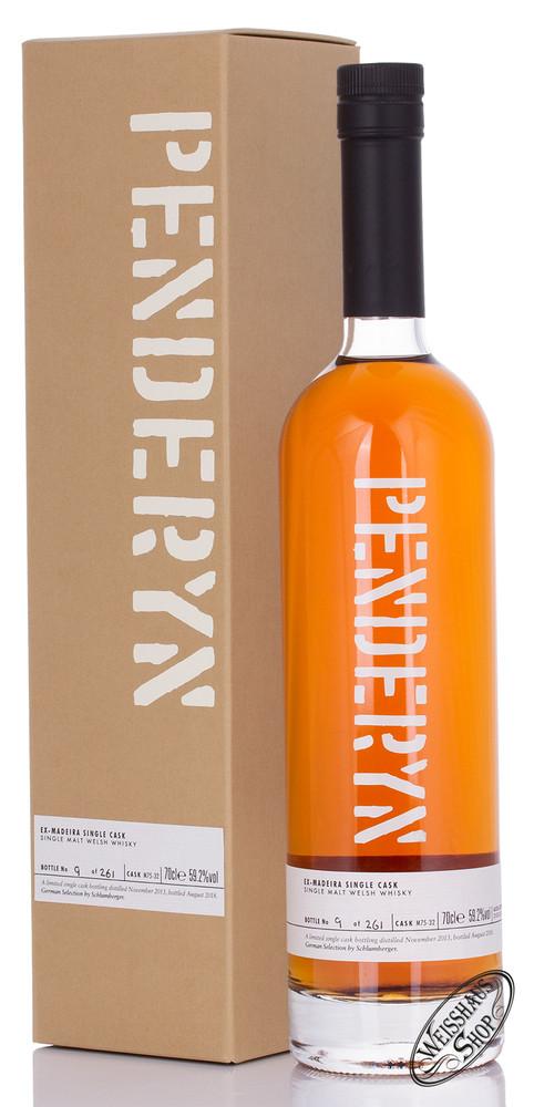 Penderyn Ex-Madeira Single Cask Whisky 59,2% vol. 0,70l