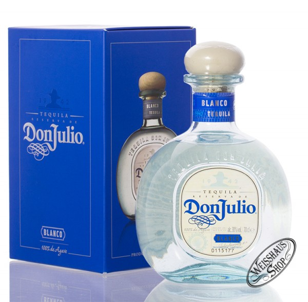 Don Julio Blanco Tequila 38% vol. 0,70l