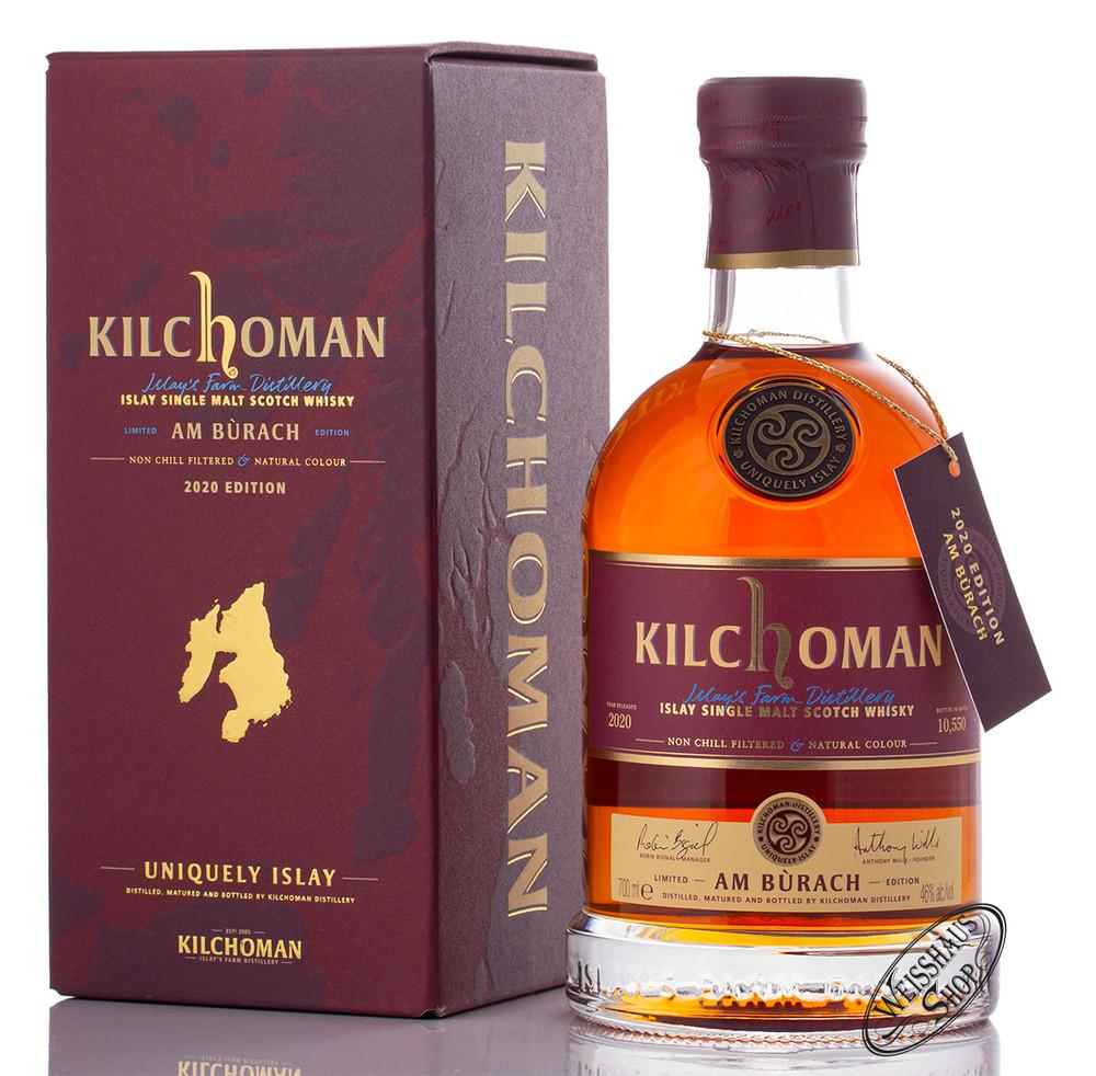 Kilchoman Am B�rach Islay Whisky 46% vol. 0,70l