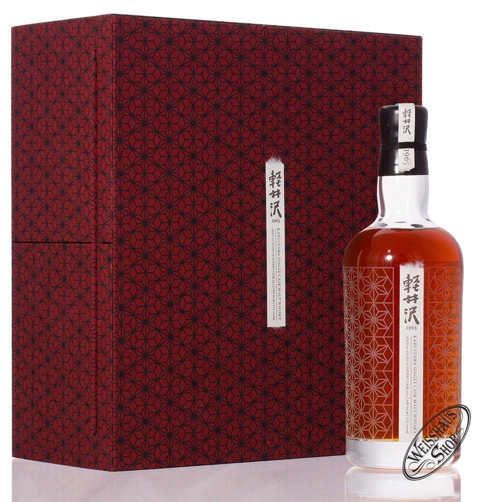 Karuizawa 50 YO 1965 Japanese Sherry Cask Whisky 62,3% vol. 0,70l