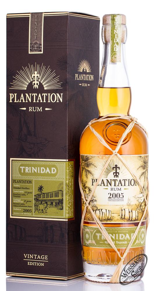 Plantation Rum Trinidad 2005 Vintage Edition 42% vol. 0 ...