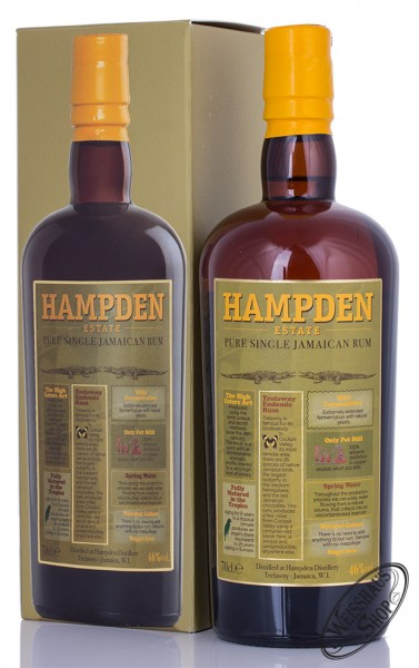 Hampden Estate Pure Single Jamaican Rum 46% 0,70l